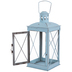 Sky Blue Metal Lantern