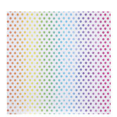 """Neon Polka Dot Scrapbook Paper - 12"""" x 12"""""""