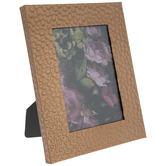 "Hammered Copper Metal Frame - 4 1/2"" x 6 1/2"""