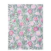 "Green & Pink Botanical Scrapbook Paper - 8 1/2"" x 11"""