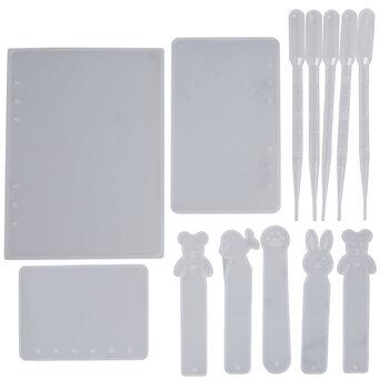 Notebooks & Bookmarks Resin Molds