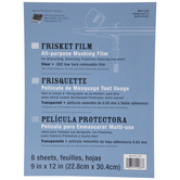 "Matte Frisket Film - 9"" x 12"""