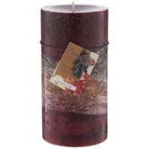 Cranapple Cider Pillar Candle