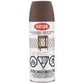 Dark Brown Krylon Wax Coating Chalky Spray Finish