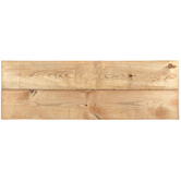 Two-Panel Weathered Wood Wall Decor