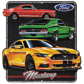 Ford Mustang Classic & Modern Metal Sign