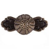 Antique Bronze Metal Knob with Base
