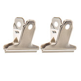Silver Metal Clips - 2""