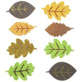 Fall Leaf Foam Stickers