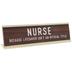 Nurse Nameplate