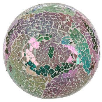 Cool Tone Mosaic Decorative Sphere