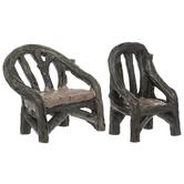 Wood Grain Chairs
