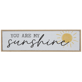 You Are My Sunshine Wood Decor