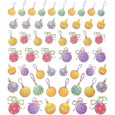 Ornaments Foil Stickers