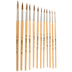 Watercolor Paint Brushes - 12 Piece Set
