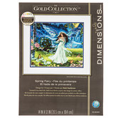 Spring Fairy Counted Cross Stitch Kit