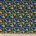 West Virginia Allover Collegiate Cotton Fabric