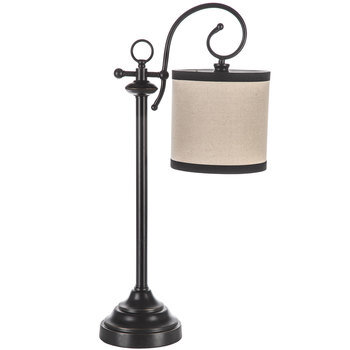 Scroll Cylinder Metal Lamp