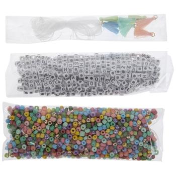 Pastel Alphabet Bracelet Kit