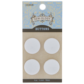 Glossy Concave Buttons - 19mm