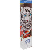 White Tiger In Autumn Diamond Art Intermediate Kit