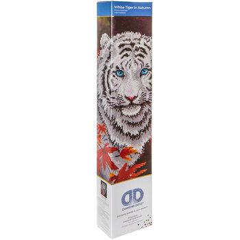 White Tiger In Autumn Diamond Art Intermediate Kit