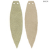 Camo & Sage Feather Leather Earring Blanks