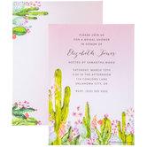 Cacti Invitations