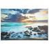 Ocean Sunrise Canvas Wall Decor