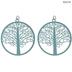 Metal Tree Pendants