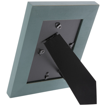 TealDistressed Wood Frame