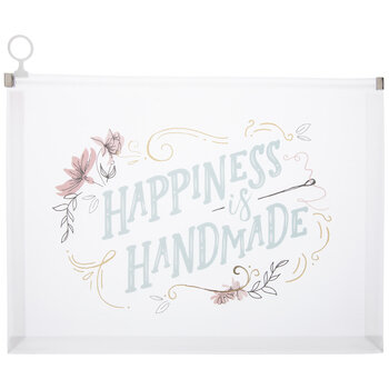 Happiness Is Handmade Pouch