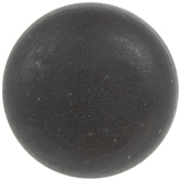 Rustic Brown Ringed Metal Knob