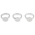 Adjustable Rings With Pads - 12mm