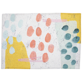 Multi-Color Abstract Dots Placemat