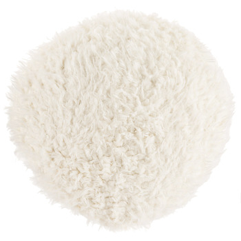Round Fuzzy Pillow