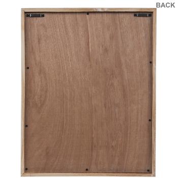 Whitewash Rectangle Wood Wall Decor