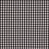 Black & White Gingham Homespun Cotton Fabric