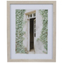 Open Door & Vines Framed Wall Decor