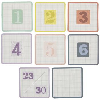 Farmhouse Lane Calendar Numbers