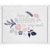There Is Sunshine In My Soul Wood Wall Decor