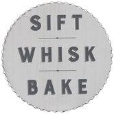 Sift Whisk Bake Wood Wall Decor