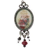 Vintage Santa Pendant