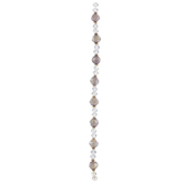 Crystal Faceted Glass Bead Strand