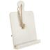 White Wood Recipe Holder