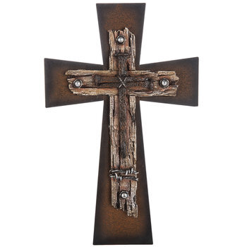 Nailed Wall Cross