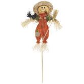 Overalls Scarecrow Pick
