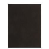 "Black Cardstock Paper Pack - 8 1/2"" x 11"""