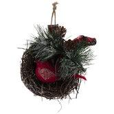Bird Nest Ornaments