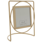 Gold Wire Metal Frame